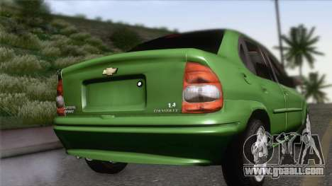 Chevrolet Corsa Classic 2009 for GTA San Andreas left view