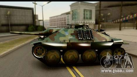 Jagdpanzer 38(t) Hetzer Chwat for GTA San Andreas right view