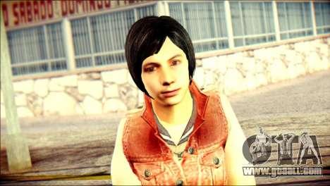 Sofia Child Skin for GTA San Andreas third screenshot