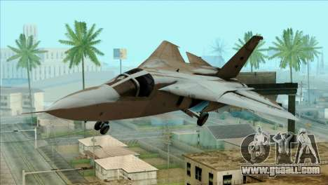SU-27SK Indonesian Air Force for GTA San Andreas back view