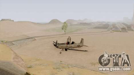 EMB T-6A Texan II US Navy for GTA San Andreas