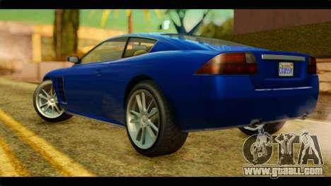 GTA 5 Ocelot F620 for GTA San Andreas left view
