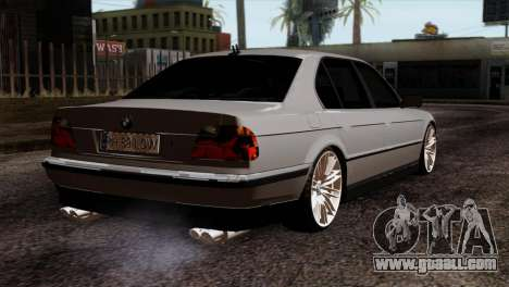 BMW 750iL E38 Romanian Edition for GTA San Andreas left view