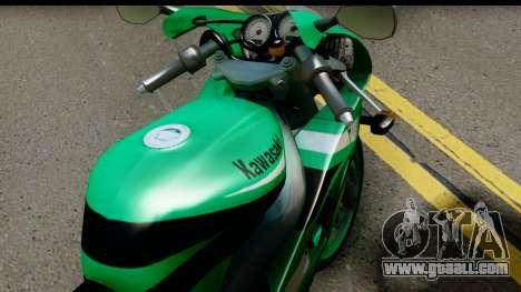 Kawasaki ZX-9R for GTA San Andreas right view