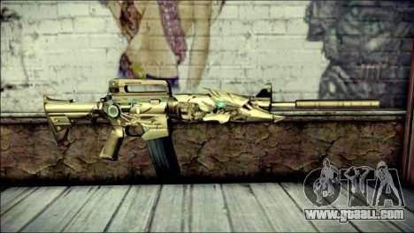 M4A1 Transformer CrossFire for GTA San Andreas