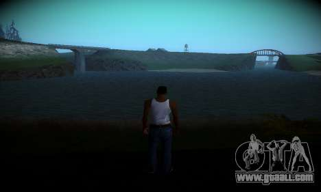 Ebin 7 ENB for GTA San Andreas second screenshot