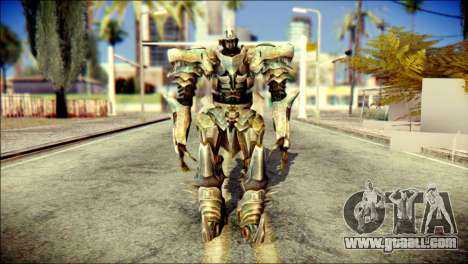 Grimlock Skin from Transformers for GTA San Andreas
