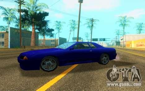 Elegy WorldDrift v1 for GTA San Andreas back left view