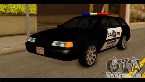 Stratum Police Highway v1.0 for GTA San Andreas