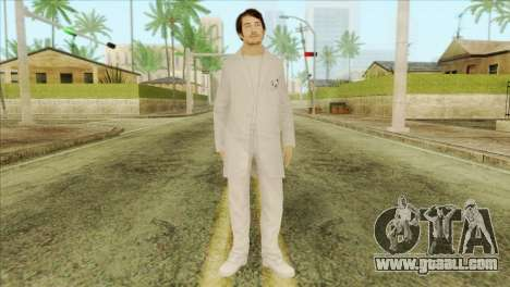 Takedown Redsabre NPC Scientist for GTA San Andreas