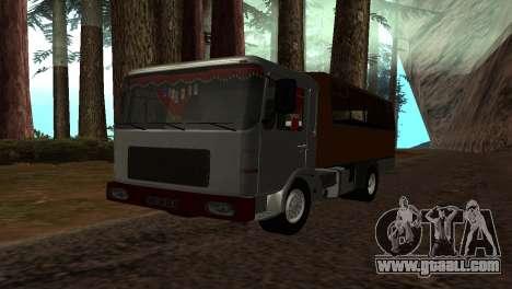 Roman Bus Edition for GTA San Andreas