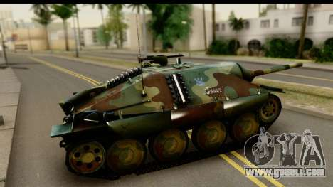Jagdpanzer 38(t) Hetzer Chwat for GTA San Andreas left view
