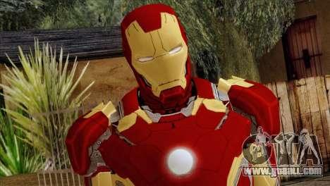 Iron Man Mark 43 Svengers 2 for GTA San Andreas third screenshot