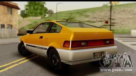 GTA 4 Blista Compact for GTA San Andreas left view