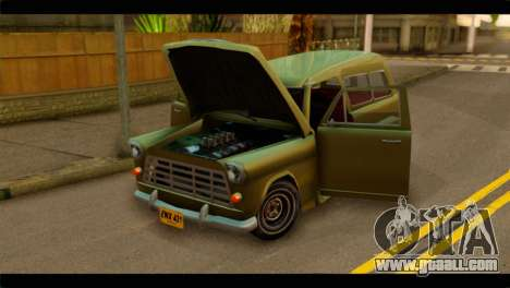 Chevrolet 56 for GTA San Andreas back view