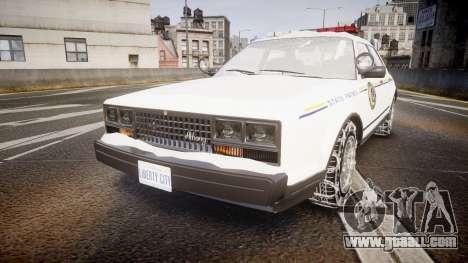 GTA V Albany Police Roadcruiser for GTA 4