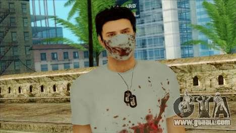 ER Alex Shepherd Skin without Flashlight for GTA San Andreas third screenshot