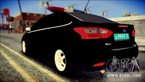 Ford Focus ДПС for GTA San Andreas left view