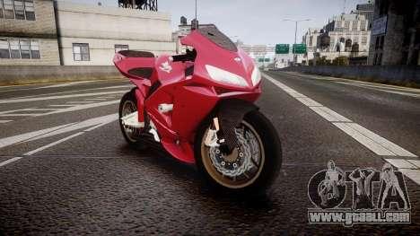 Honda CBR600RR for GTA 4