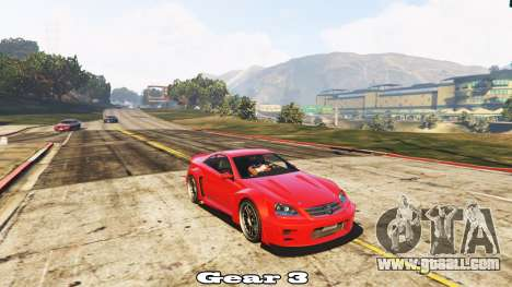 Manual transmission for GTA 5