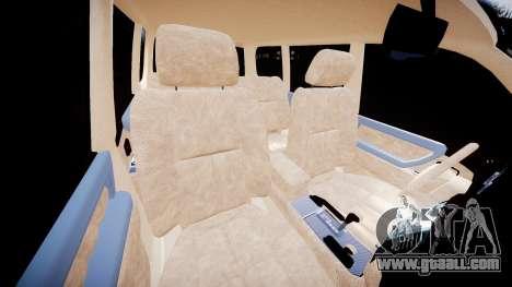 Toyota Land Cruiser 100 UEP [ELS] for GTA 4 inner view