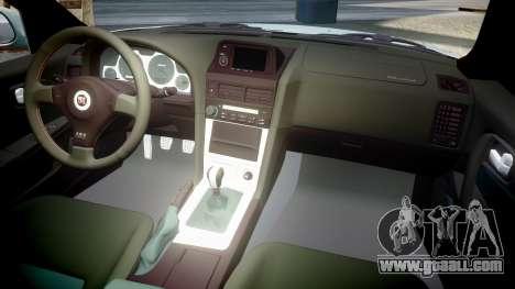 Nissan Skyline R34 GT-R M-Spec Nur for GTA 4 side view