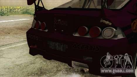 Acura RSX Hinata Itasha for GTA San Andreas right view