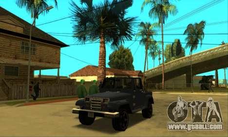 Mesa Final for GTA San Andreas inner view