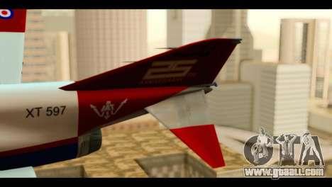 McDonnell Douglas F-4E Phantom II for GTA San Andreas back left view