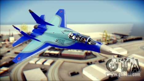 Mikoyan-Gurevich MIG-29K UB 341 Blue for GTA San Andreas