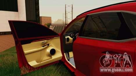 Lexus NX200T v2 for GTA San Andreas side view