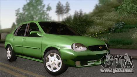Chevrolet Corsa Classic 2009 for GTA San Andreas
