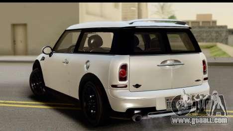 Mini Cooper Clubman 2011 for GTA San Andreas left view
