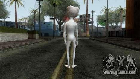 Zeta Reticoli Alien Skin from Area 51 Game for GTA San Andreas second screenshot