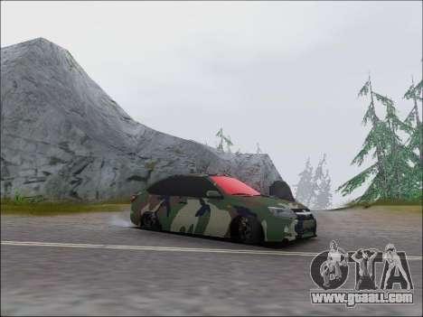 Lada Granta Liftback Coupe for GTA San Andreas left view