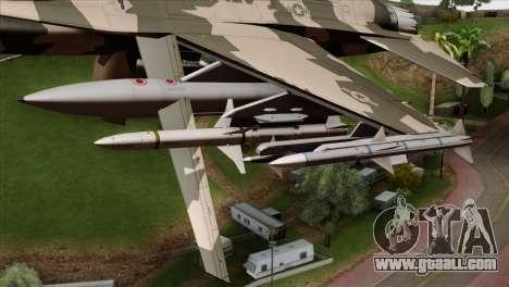 F-16C Top Gun for GTA San Andreas right view