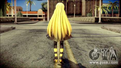 Lilly from Vocaloid for GTA San Andreas second screenshot