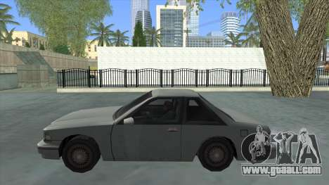 Premier Coupe for GTA San Andreas left view