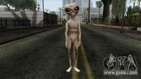 Zeta Reticoli Alien Skin from Area 51 Game for GTA San Andreas