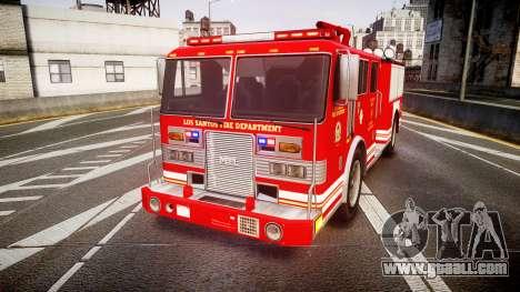 GTA V MTL Firetruck for GTA 4