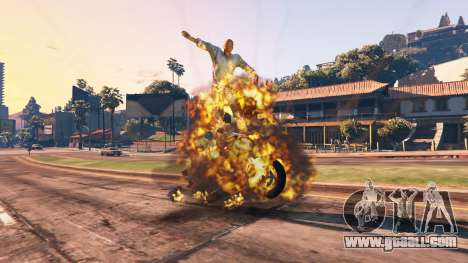 GTA 5 The undermining of the vehicle fifth screenshot