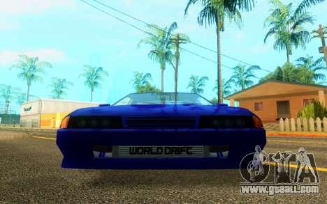 Elegy WorldDrift v1 for GTA San Andreas left view