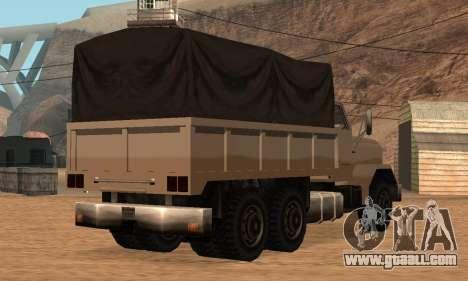 Barracks Fixed for GTA San Andreas back view