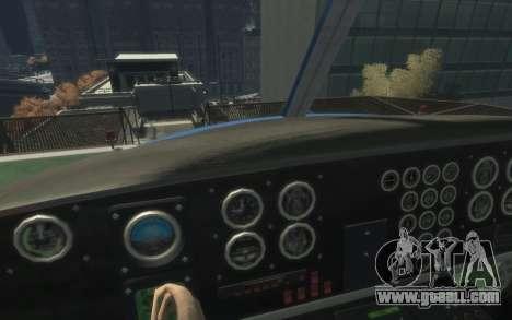 GTA III Police Valkyrie HD for GTA 4 left view