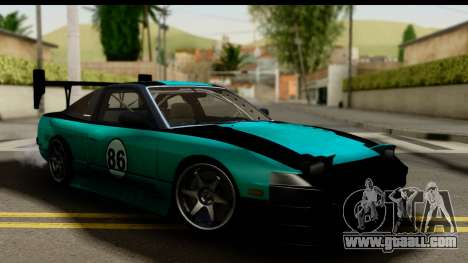 Nissan 200SX S13 Skin for GTA San Andreas