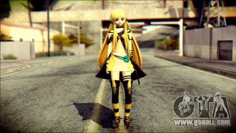 Lilly from Vocaloid for GTA San Andreas