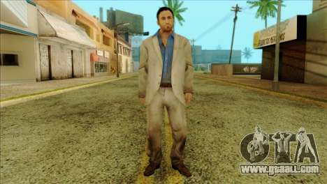 Nick from Left 4 Dead 2 for GTA San Andreas