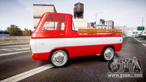 Dodge A100 Pickup 1964 for GTA 4 left view
