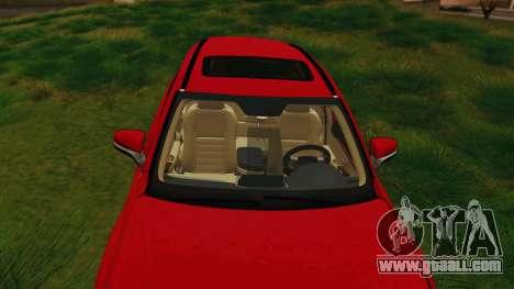 Lexus NX200T v2 for GTA San Andreas inner view
