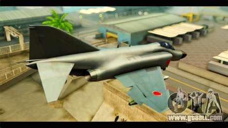 Mitsubishi F-4J JASDF for GTA San Andreas left view